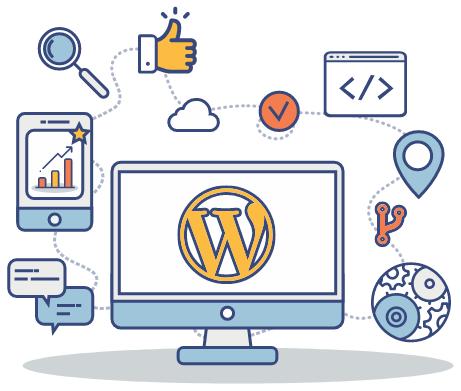 WordPress Experts Graphic - WP Geeks