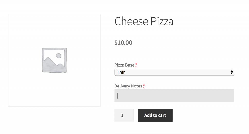 Custom WooCommerce Product Options