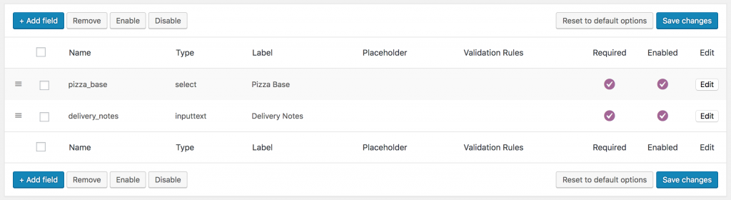 WooCommerce Extra Product Fields